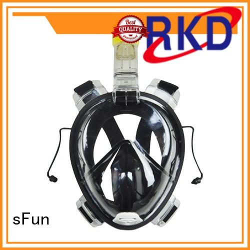 RKD 180 view one-piece full face snorkel mask for adult R10