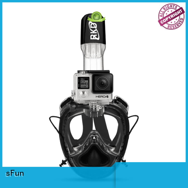 sFun full mask snorkel from China for snorkeling
