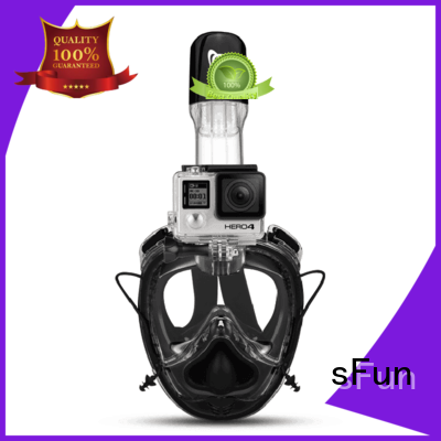 sFun clip snorkel face mask directly sale for diving