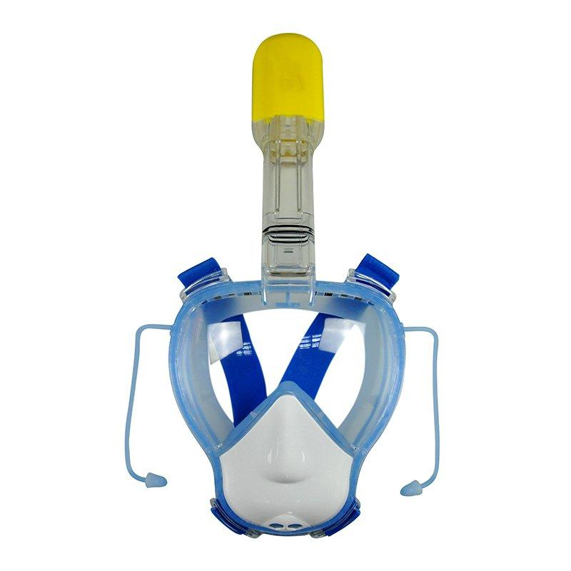 RKD dry top one-piece full face snorkel mask for Kids K10