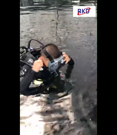 RKD new explore diving mask testing video in club