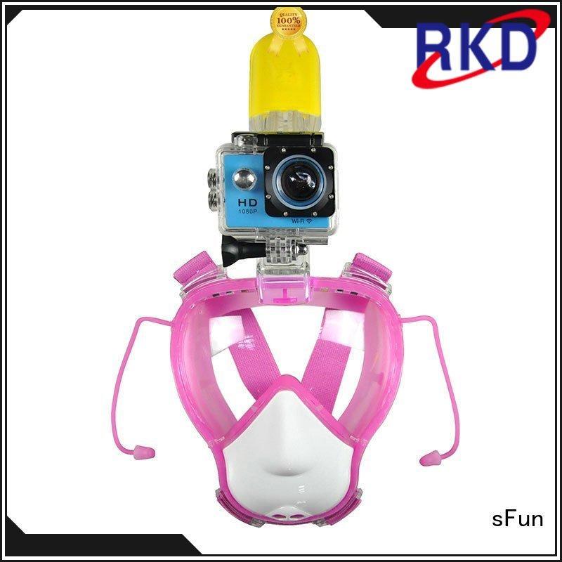 sFun go full face scuba mask factory price for tourism