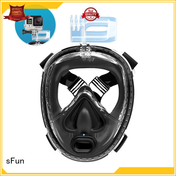 sFun first-rate diving face mask mount for tourism